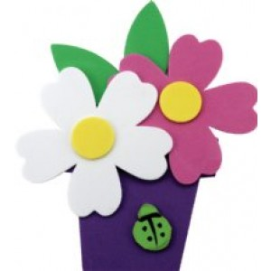 Foam Flower Pot  Kit