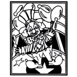 Velvet Art- Clown