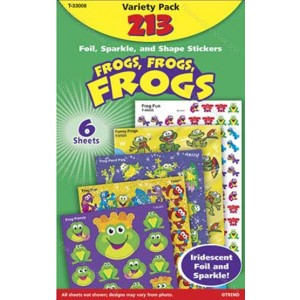 Frogs Variety Pack Stickers