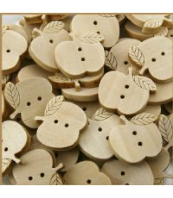Wood Apple Button