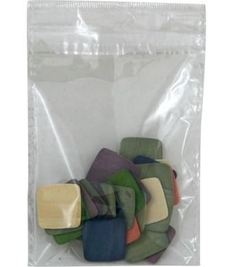 "Plastic Bags 80pk 3""x4"""