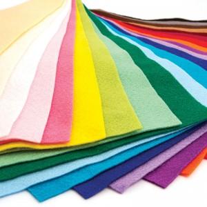 """Felt Sheets 9"""" x 12""""– 10/pk - Choice of Colors!"""