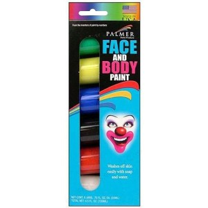 Face Paint 6 Colors