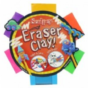 Sculpy Eraser Clay