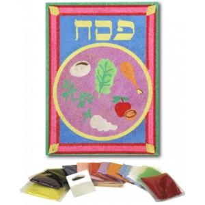 Seder Plate Sand Art Set, 12/pk