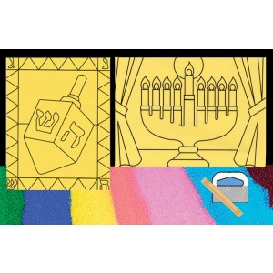 Dreidel Sand Art Kit