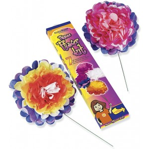 Tissue Flower Kits, 7/pk