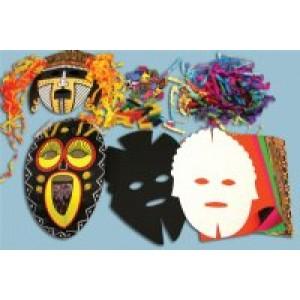African Mask Kit 24/pk