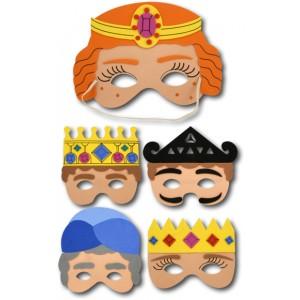 Purim Masks, 3/pk