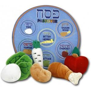 Plush Passover Set, 7/pk