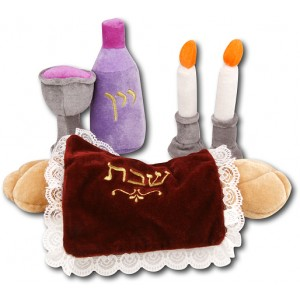 Plush Shabbos Set, 7/pk