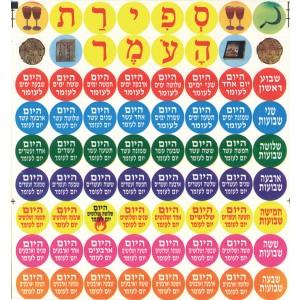 Sefiras Haomer Stickers