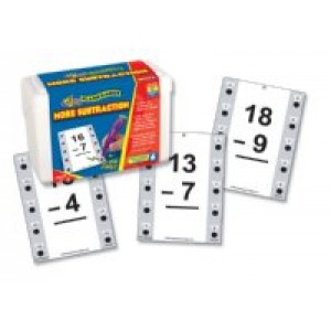 Hot Dots More Subtraction Cards