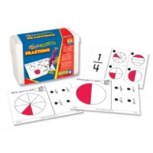 Hot Dots Fractions Cards