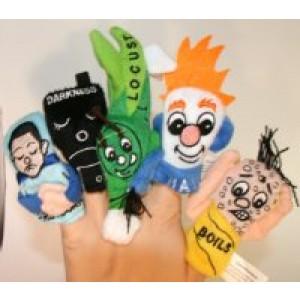 10 Plagues Finger Puppets