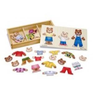Bear Family Dress Puzzle