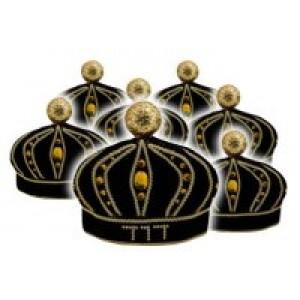 Ushpizin Velvet Crowns