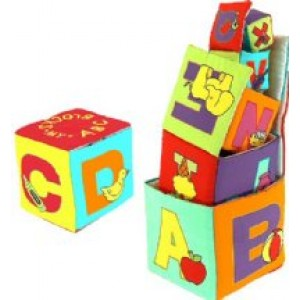 ABC Plush Stacking Blocks