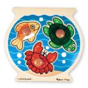 Jumbo Knob Puzzles- Fish Bowl
