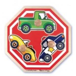 Jumbo Knob Puzzles- Stop Sign