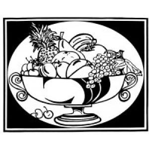 Velvet Art- Fruit Bowl