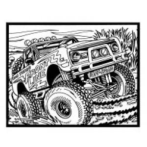Velvet Art- Jeep