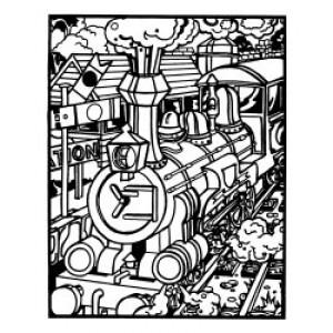 Velvet Art- Train