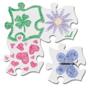 Puzzle Quilt Piece