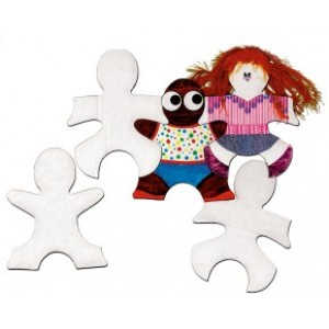 Kid Puzzle Pieces, 24/pk