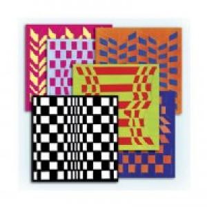 Op Art Weaving Mats