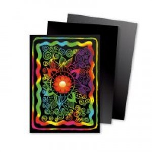 Scratch Art Cards- Multicolor