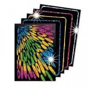 Scratch Art Cards- Glitter