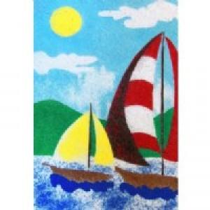 Sand Boards - Sailboat