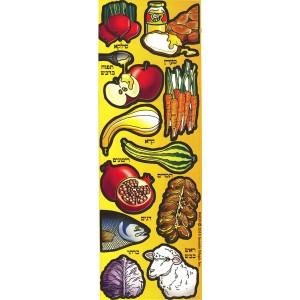 Rosh Hashana Simanim Sticker
