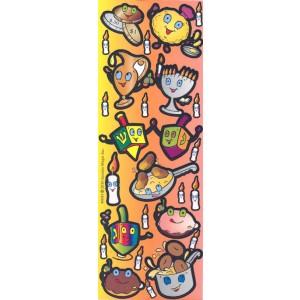 Donut & Latke Sticker