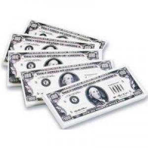 $100 Bill Erasers