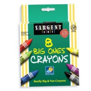 Sargent Extra Large Crayons
