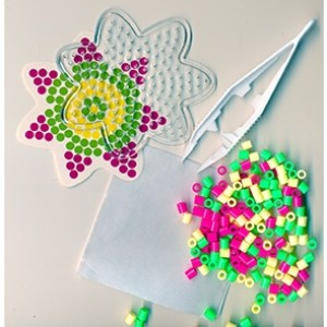 Perler Beads Posy Flower