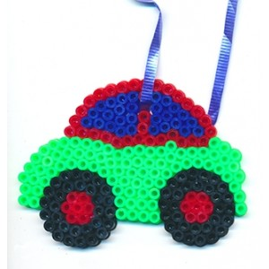 Perler Beads Car