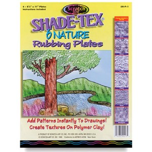 Rubbing Plates – Nature, 6/set