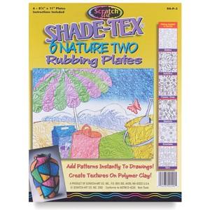 Rubbing Plates – Nature 2, 6/set