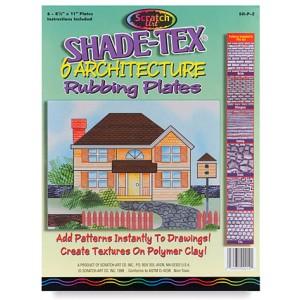 Rubbing Plates – Architecture, 6/set