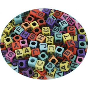 Colored Alpha Beads, 160/pack