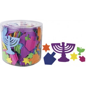 Chanukah Foam Shapes, 500+ pcs.