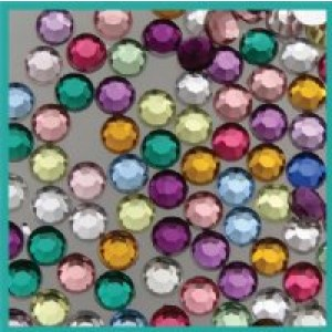 Acrylic Rhinstones 6.5 mm