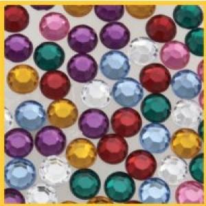 Acrylic Rhinstones 8 mm