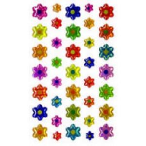 Peel & Stick Gemstones- Flowers