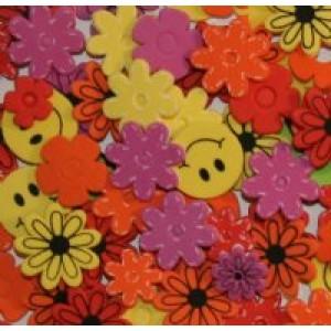 Foam Baby Bucket-Flowers