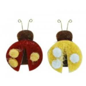 Felt Ladybug Assembled set of 3