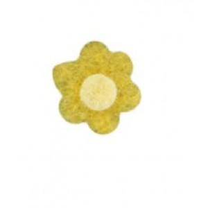 Felt Flower Assembled #3 Set of 10